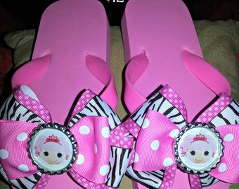So CUTE Bow Flip Flops