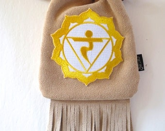 LoopyQ Buttercream Limited Edition Yellow 3rd Sacred Chakra Manipura Solar Plexus Patch designed by PotentLifestyle