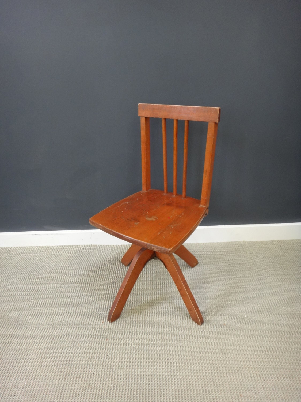 Vintage Child S Swivel Desk Chair