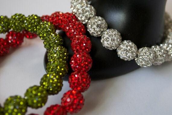 Holiday Sparkle Rhinestone Bracelet