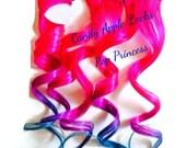 Hair Extensions, Pop Princess, Dip Dye, Ombre Rainbow Human Hair Extensions