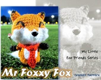MyLittleZooFriends Series - Mr Foxxy Fox (PDF Pattern)