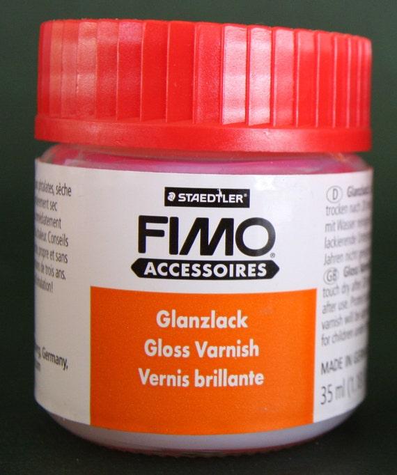 Fimo Gloss Varnish 1.18oz, Staedtler water based varnish