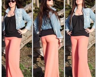 Peachy Peach Belle Flare Pants