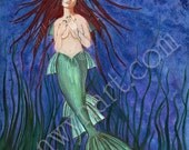 Mermaid - Art print