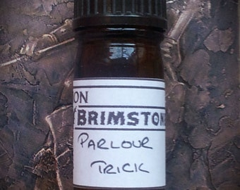 Parlour Trick perfume oil - white musk, earl grey tea, tea rose, lavender, neroli
