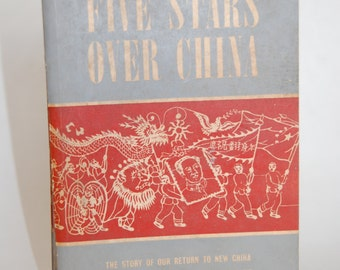Vintage Book, Five Stars Over China