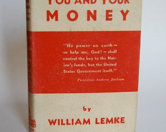 Vintage Book, You and Your Money