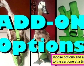 ADD-ON Options for Deluxe Diaper Harnesses