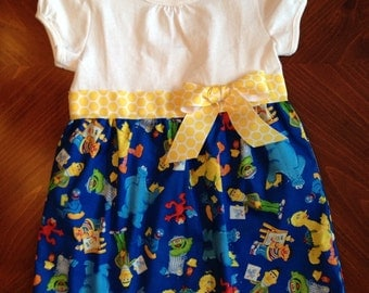 Sesame Street Dress