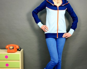 "Hooded jacket ""SPORTY NEON MIRI"""