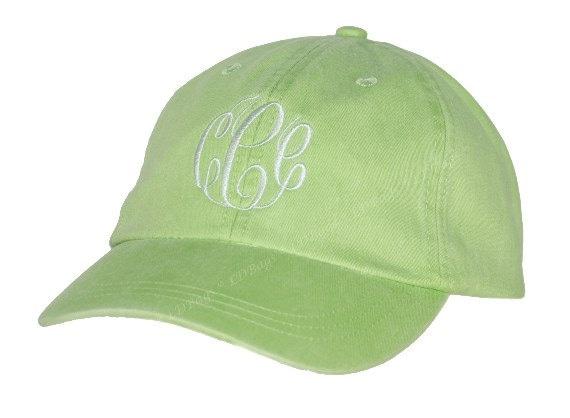 personalized bridesmaid hat monogram baseball hat
