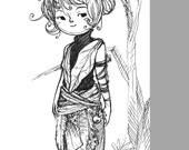 Custom Original Character Sketch