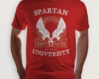 Spartan University (God of War) t-shirt