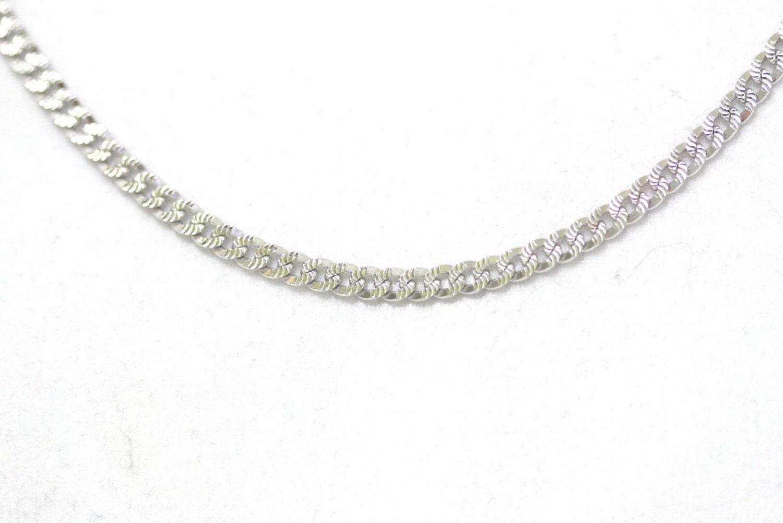 14k Italy White Gold Chain Worth