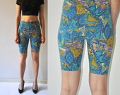 Vintage 80's High Waisted Biker Shorts