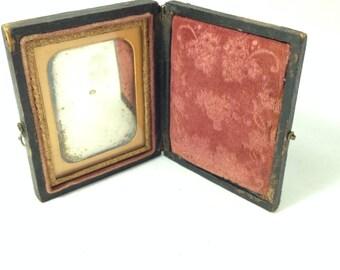 Antique Daguerreotype Framed Photograph
