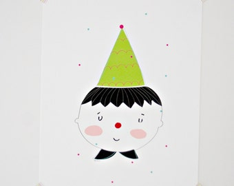 Print - Candy Clown-