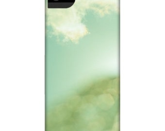 Smartphone Case Sky Bokeh - for iPhone iPod  Samsung Blackberry HTC Nature Photography light blue green bokeh fantasy abstract