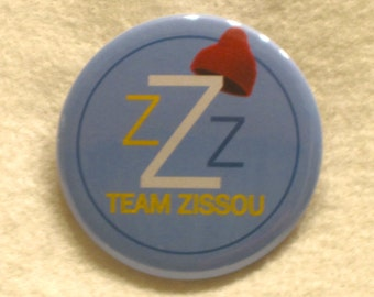 Team Zissou Button or Magnet - 2.25 in.