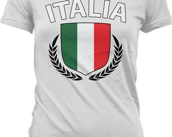 Italia Shield T-Shirt - Italian Pride / World Cup - GH_00184
