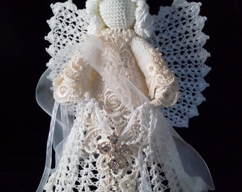Beautiful Crocheted Angel