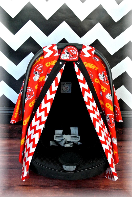 Items Similar To Kansas City Chiefs Car Seat Canopy Car