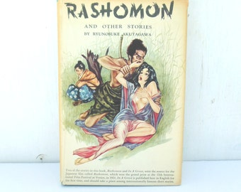 Rashomon Akutagawa First Edition 1952