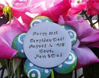 Happy Birthday/Teacher gift Flower Pick
