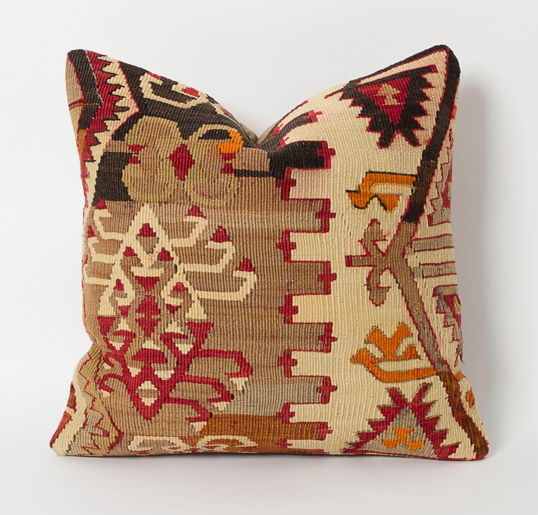 Turkish Kilim Pillow Home Decor Decorative Pillow Home: Vintage Kilim Pillows Bohemian Home Decor Kilim Cushion