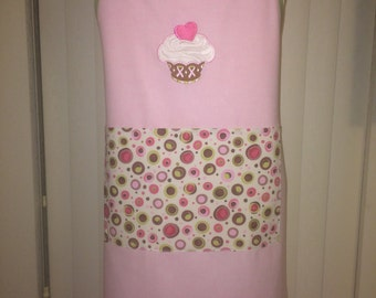 Pretty In the Pink Cupcake Apron