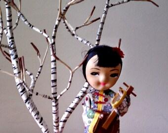 Vintage japanese tchotchke doll