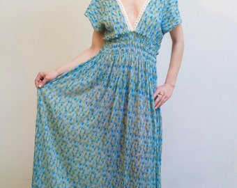 Kleid sommerkleid wei boho kleid festival kleid wei e - Plissee kleid lang ...