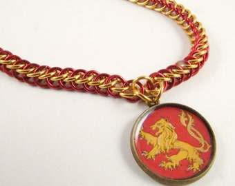 Lannister Chainmail Necklace