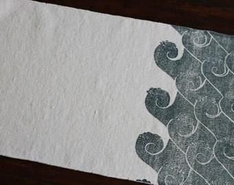 bath rug, bath mat WAVES cotton chenille rug