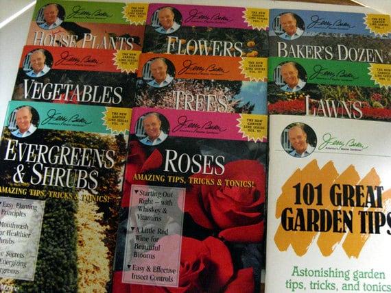 gardening books jerry baker amazing tips tricks by