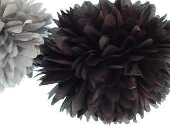 Silver Wedding / Great Gatsby Party / 5 Tissue Party POMS ...