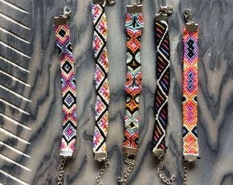 Summer Friendship Bracelets with Clasps