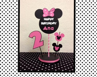 Minnie Mouse Birthday Decoration Centerpiece