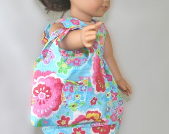 Made to fit 18in dolls such American Girl Doll Clothes, 18in doll clothes, 18in doll Outfit, 18in doll dress, 18in doll shoes, Pippy LaJade