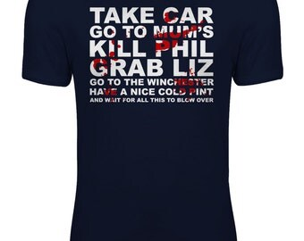 Shaun of the Dead Zombie Movie - Go to the Winchester Womens T-shirt