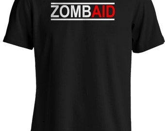 Shaun of the Dead Zombie Movie - ZombAid T-shirt