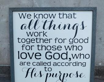 Romans 8:28 sign