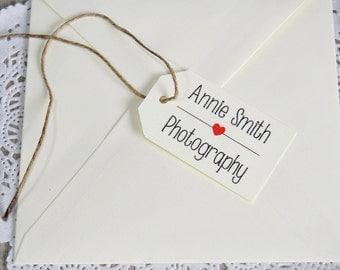 12 Favor tags personalized, wedding custom tags, label custom