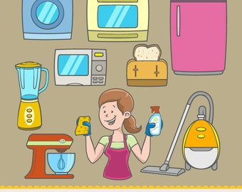 Home Equipment - Clipart