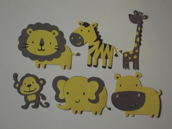Safari Animal Cutouts Safari Animal Cut Outs Lion