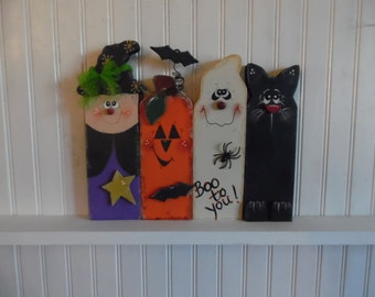 Halloween Characters Set of 4