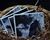 Coasters, Black and White Photography, London Themed Set of 4