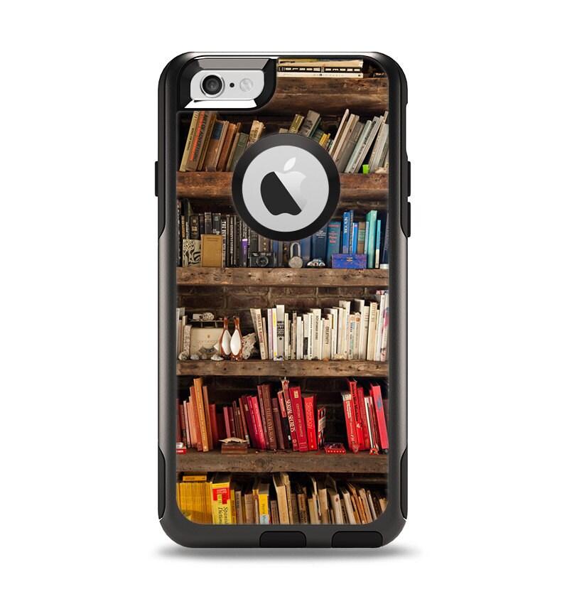 Case Design skinz phone case : The Vintage Bookcase V1 Apple iPhone 6 Otterbox Commuter Case