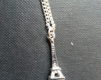 Paris Inspired Charm Necklace - Eiffel Tower